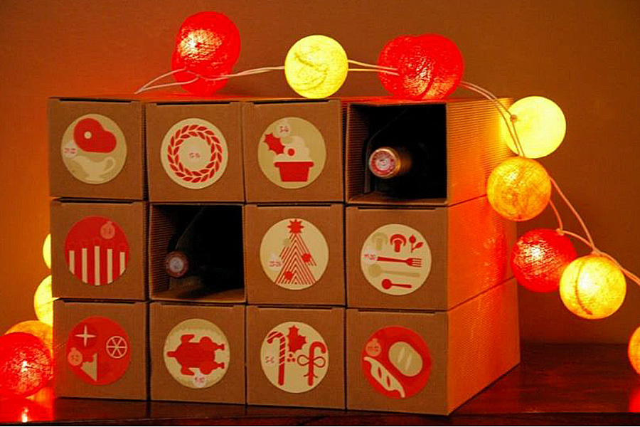 le premier calendrier de l avent du vin est lanc par vineabox. Black Bedroom Furniture Sets. Home Design Ideas