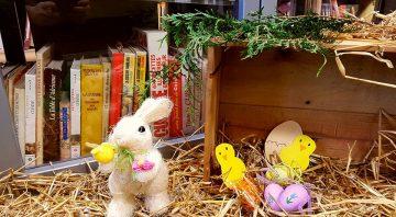 Le Village du Livre fête Pâques