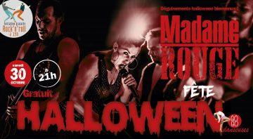 Soirée Halloween + La Terrible Madame Rouge en concert