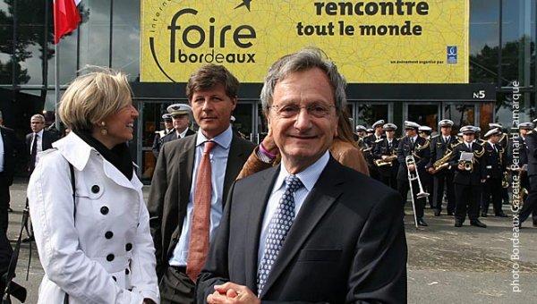 Bernard Séverin lors de l'inauguration de la Foire 2014