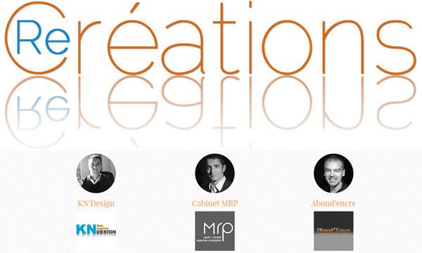Patrick Gremy (KN design), Laurent Racionero (Cabinet MRP), Philippe Mompontet (Abond'encre)