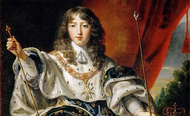 Louis XIV par Juste d'Egmont (1654)