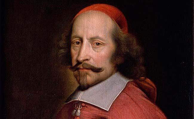 Portrait du cardinal Mazarin, par l'atelier de Pierre Mignard, 1658-1660