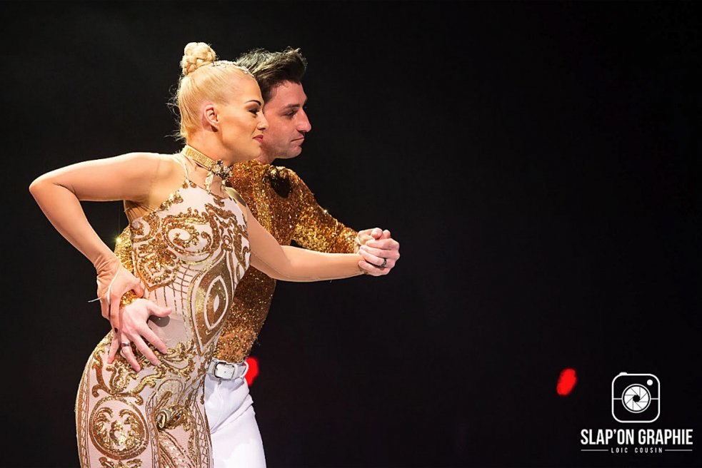 Brian Joubert et Katrina Patchett